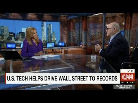 US Tech Drives Wall Street to Record Highs | Shelly Palmer on CNN
