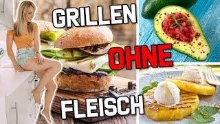 GRILLEN OHNE FLEISCH: Vegetarische Grill - Rezepte! Das MUSST du probieren! TheBeauty2go