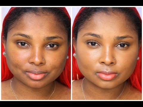 No makeup/Makeup tutorial + PurMinerals Review - Queenii Rozenblad