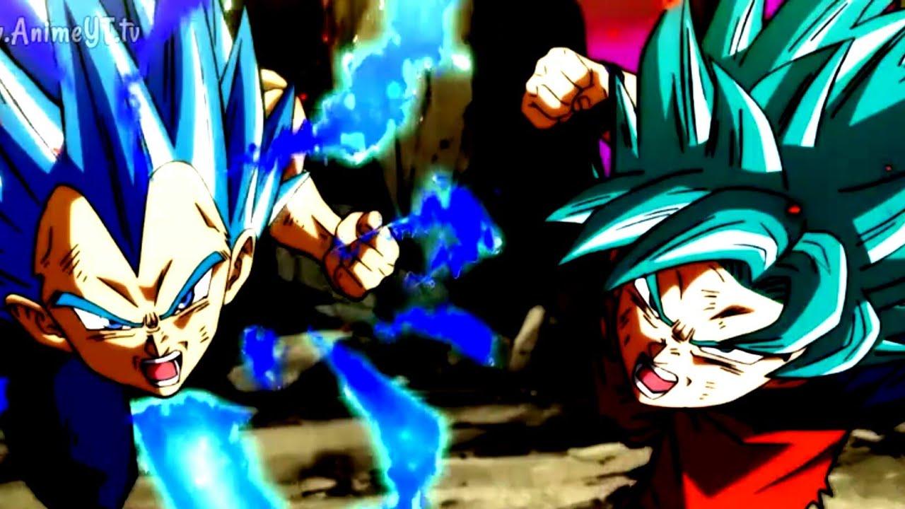 Goku Vegeta Vs Jiren Amv Get Me Out Hd Youtube