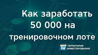 Как заработать 50 000 на тренировочном лоте - Торги по банкротству