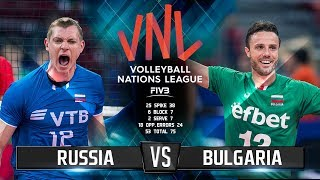Волейбол | Россия vs Болгария  Лига Наций 2018 / Russia vs Bulgaria | Volleyball Nations League 2018