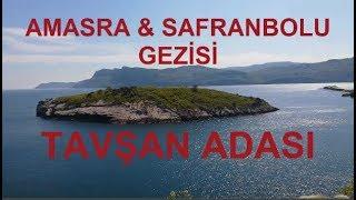 Amasra-Safranbolu Gezisi 1.Bölüm Savaşmadan Alınan Yer AMASRA(Tavşan Adası-Ağlayan Ağaç)