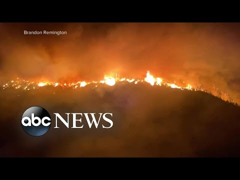Deadly wildfire emergency out West