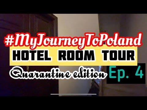 Quarantine Hotel Room Tour in Warsaw, Poland   My Journey To Poland Vlog Ep. 4