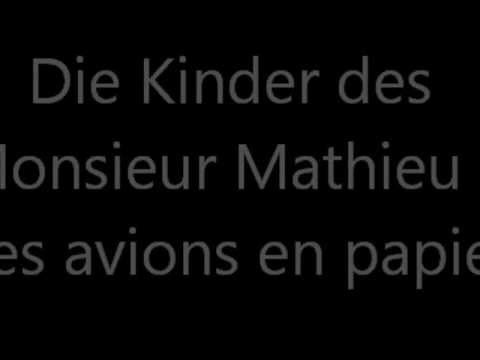 Die Kinder Des Monsieur Mathieu Besetzung
