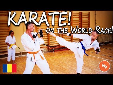 Karate On The WorldRace!
