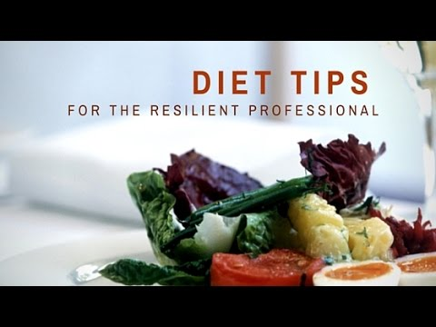 Improve Health & Energy - Low Hassle Diet Tips For The Resilient Professional
