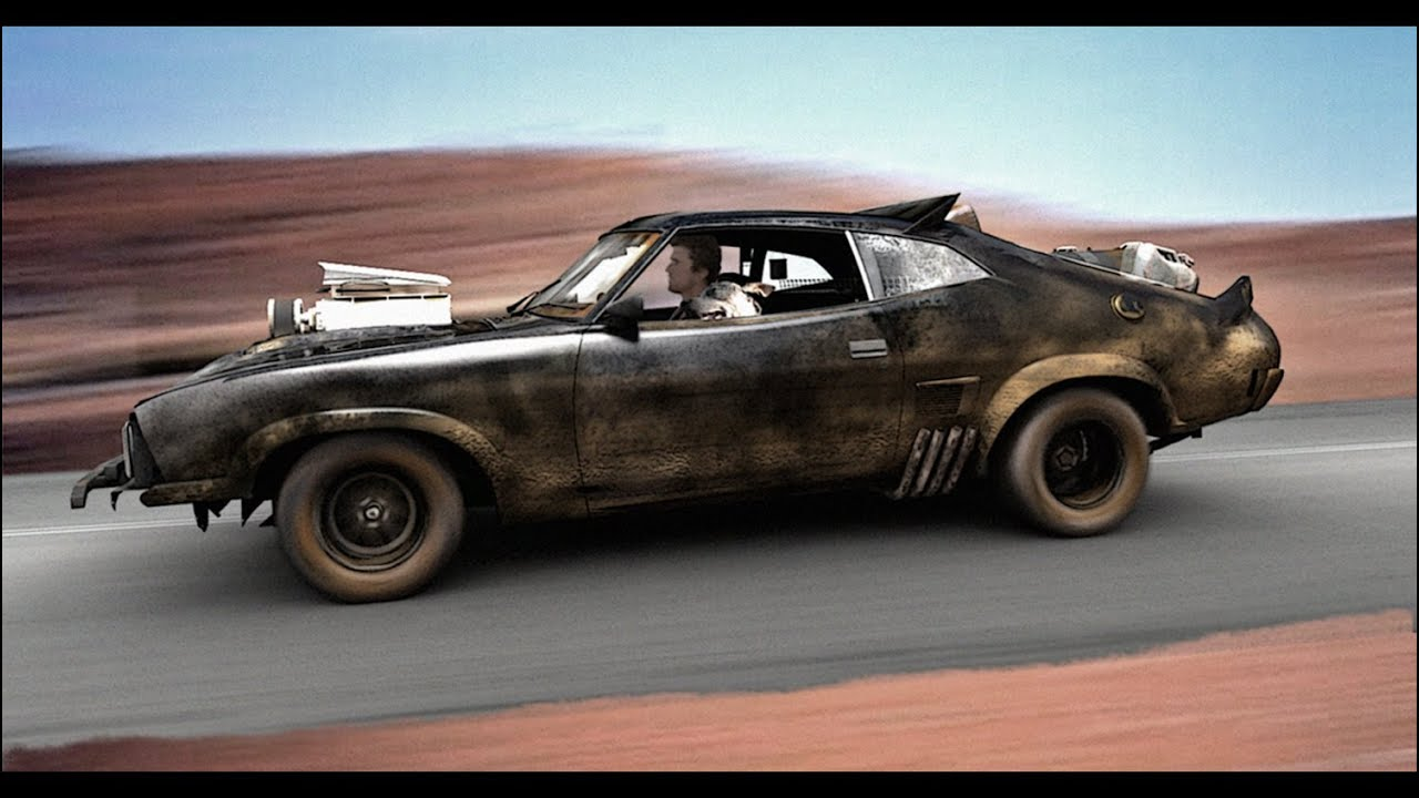 Photorealistic Computer Generated Mad Max Cars Youtube