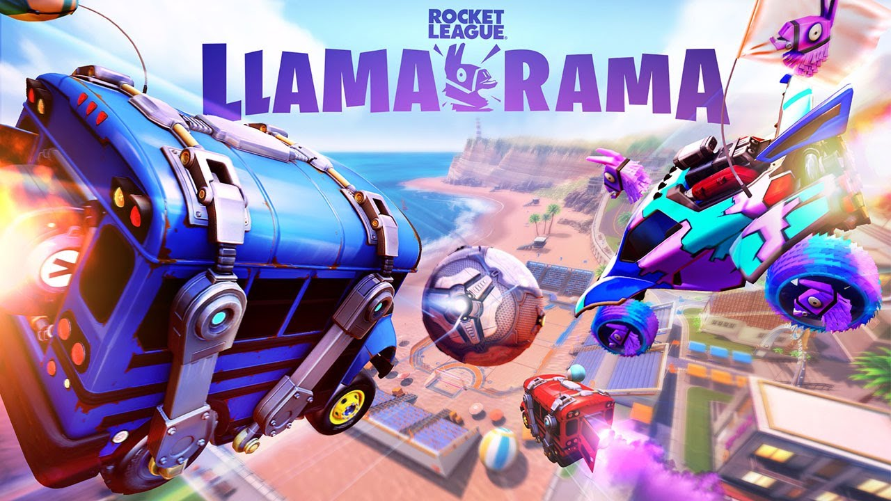 Rocket League Llama-Rama Event Trailer - YouTube