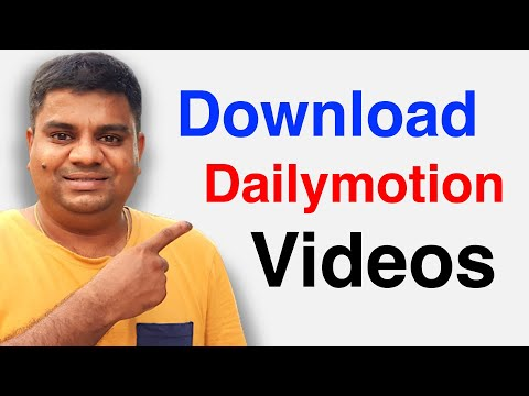 How to Download Dailymotion Videos Online Without Software on PC or Computer