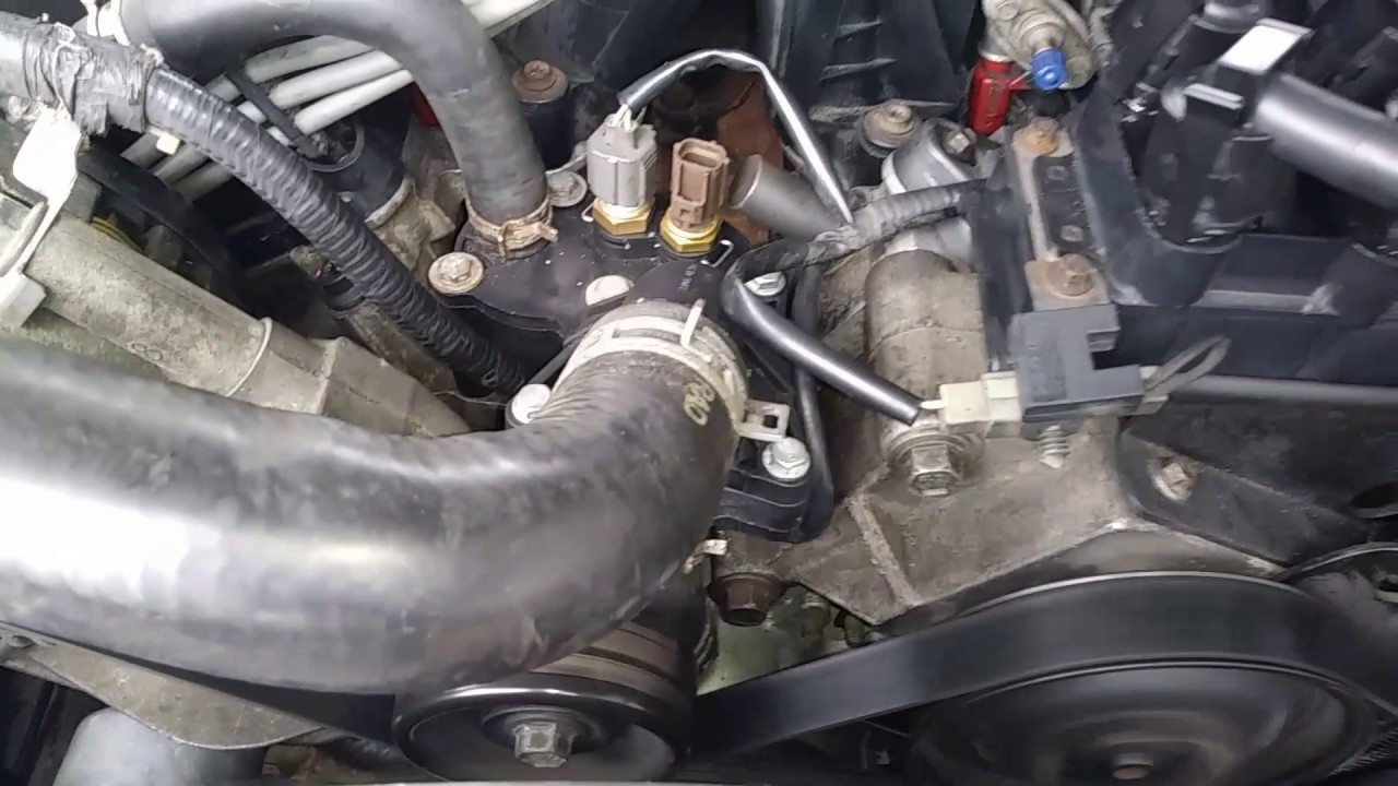 Ford Explorer 4 0l Chirping Sound After Timing Chains Tensioners And Head Gaskets Replacement
