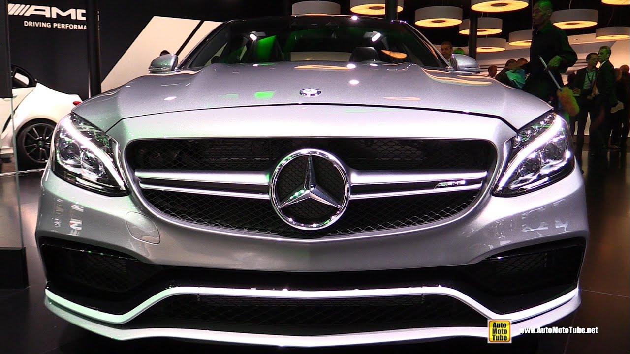 2015 Mercedes-Benz C-Class C63 AMG S - Exterior and ...  2015 Mercedes-B...