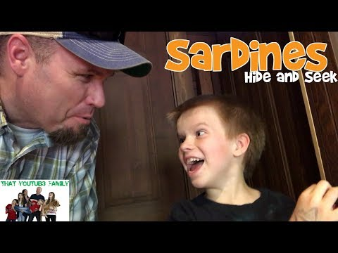Sardines At Amusement Park Western Town / That YouTub3 Family