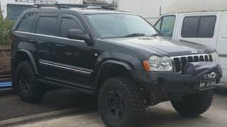 Upgrading WK Grand Cherokee Rear Shocks