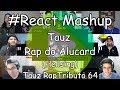 "#React Mashup: Tauz "" Rap do Alucard "" (Hellsing) | Tauz RapTributo 64"