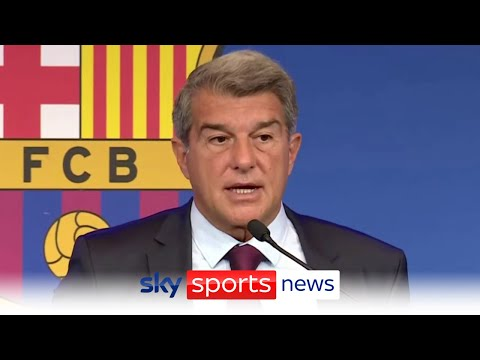 Barcelona President Joan Laporta on why Lionel Messi's contract was not renewed