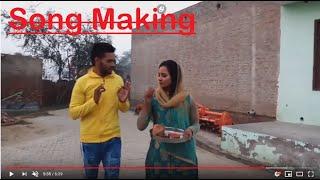 Song Making   Wo A Mudliya   Miss Preeti Haryanvi   Song Name Mod   bhabhi bam