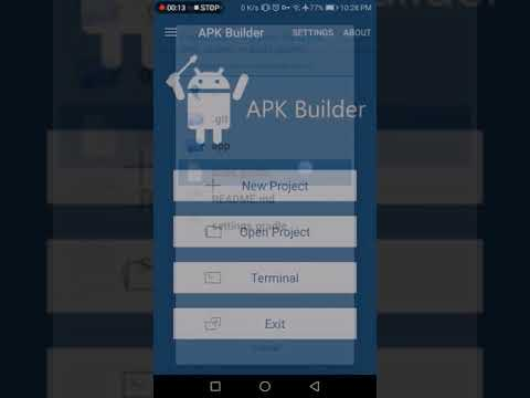 APK Builder: build a beauty app  #Smartphone #Android