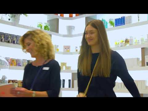 Instore e commerce bij Skins Cosmetics