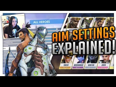 THE BEST Aim Settings Console: ALL HEROES - Improve Aim! | PS4/Xbox  Overwatch