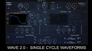 WAVE 2 0 Single Cycle Waves