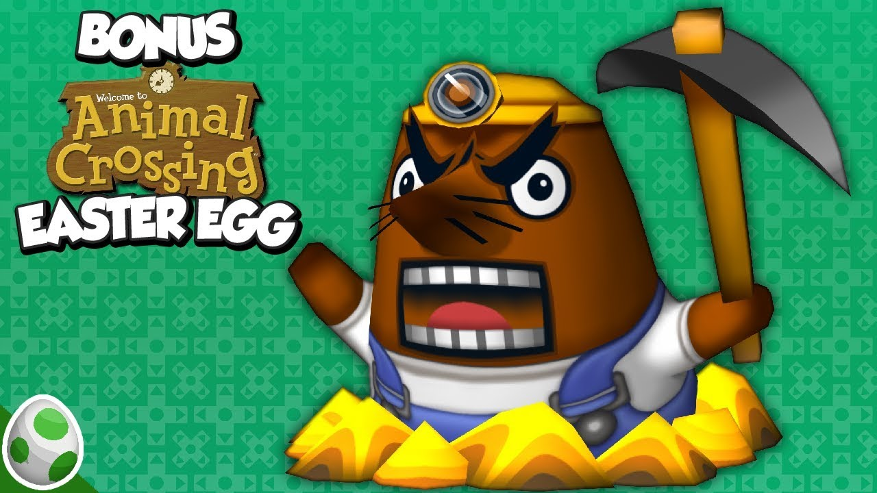 Resetting Makes Mr. Resetti Angry - Animal Crossing Easter Egg ...