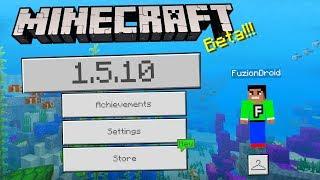 MCPE 1.5.0.10 BETA UPDATE!!! - Minecraft Pocket Edition