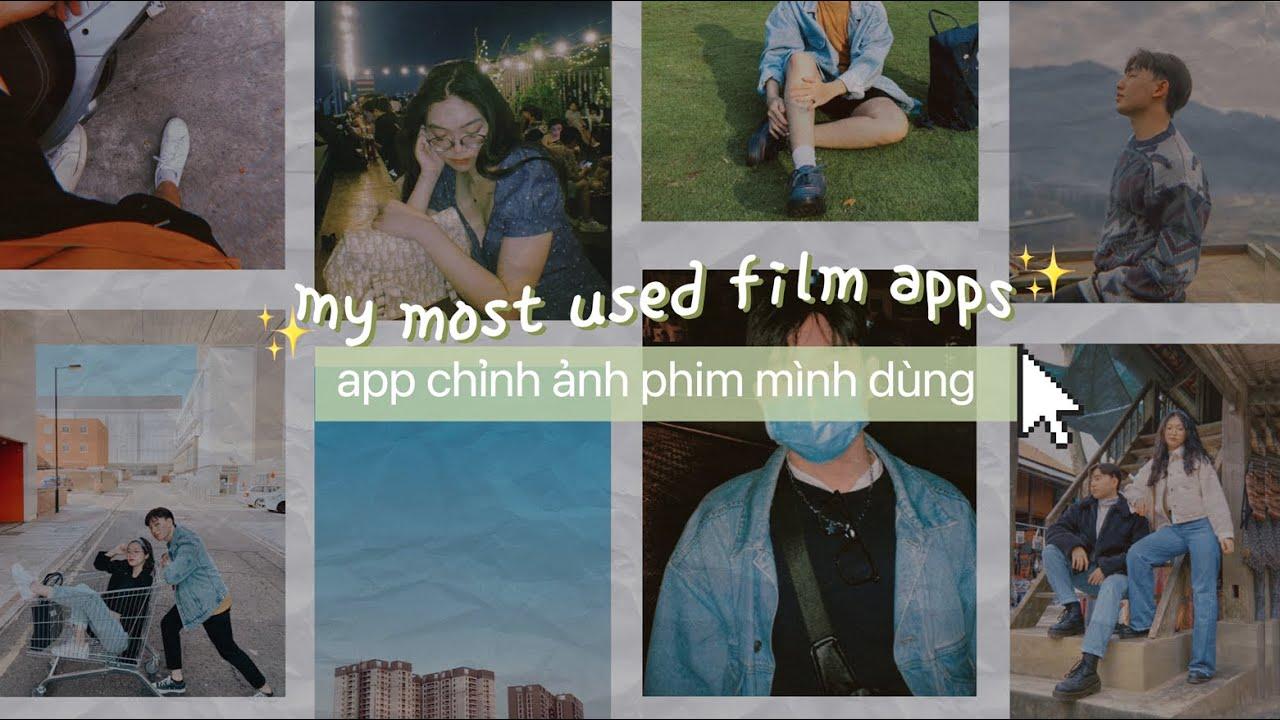 Apps Chỉnh Màu Phim Đỉnh Cao Trên Điện Thoại 🌿📷 MY MOST USED FILM APPS | THIEN BAKA