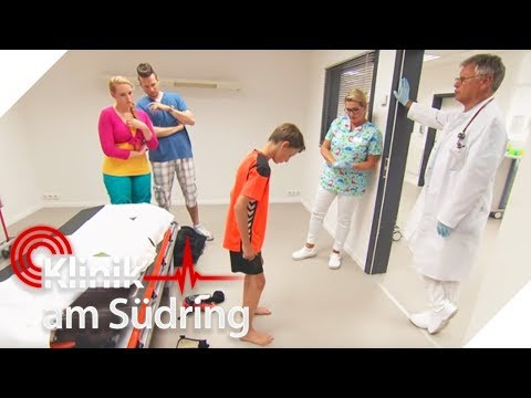 Bekommt dieser Junge auch ohne Operation wieder gerade Beine?   Klinik am Südring   SAT.1 TV