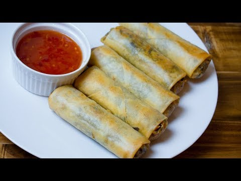 Vegetarian Egg Rolls How to Make Vegetarian Spring Rolls