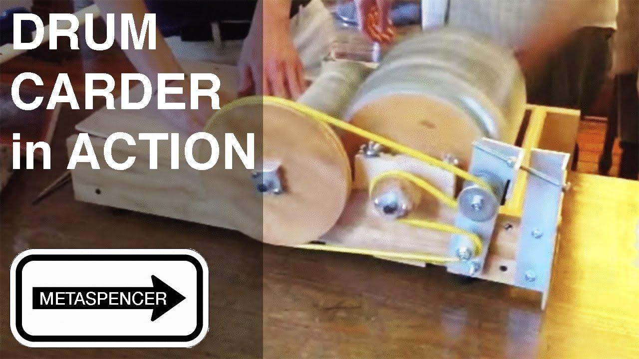 Diy Drum Carder Plans On Etsy Youtube