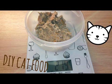 DIY Cat food   Mackerel-Sardine-Carrot Mix