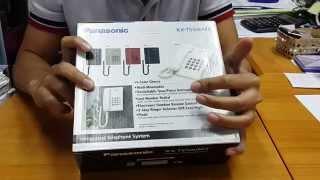 KX-TS500MX Panasonic Corded Phone Review Unboxing