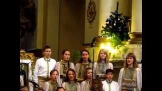 Велика Коляда у Львові  * Christmas Carols in Lviv *   January .2013(13 cічня 2013 р - Домініканський Собор у Львові Виступ дитячого хору