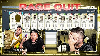 RAGE QUIT im ICON DISCARD BATTLE 😱🔥 Ehre Genommen VS GamerBrother !! FIFA 20