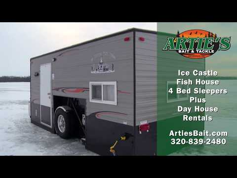 Artie's Bait And Tackle Ice House Rentals On Big Stone Lake