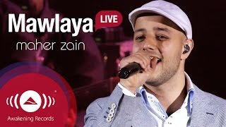"Maher zain performing ""mawlaya - مولاي"" live at the apollo theatre, london united kingdom. © 2015 awakening records watch ""awakening london..."
