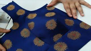 Perfect Katori Blouse Cutting & Stitching   Katori Cut Blouse ki Cutting