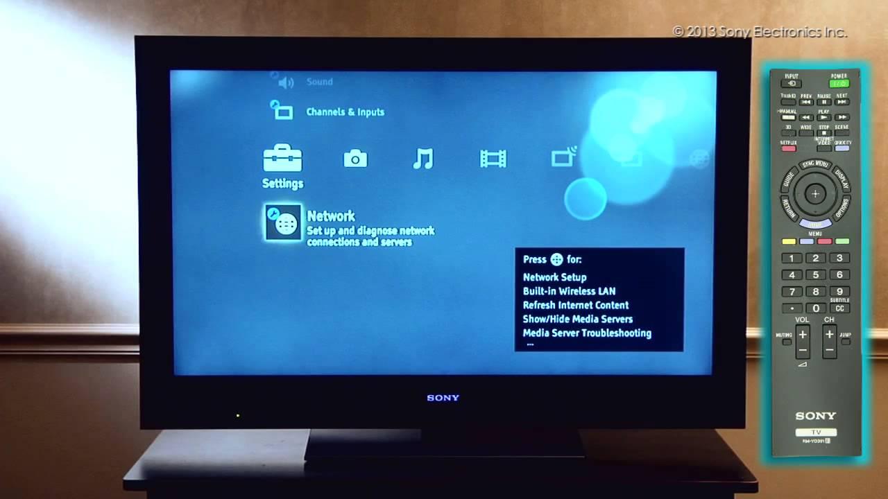 Como Conectar Su Televisor Sony 174 Con Wifi Integrado A Una