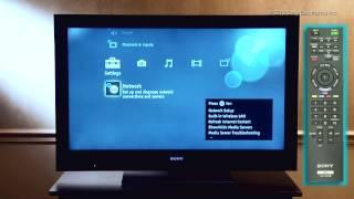 Como Conectar su Televisor Sony con WiFi Integrado a Una Red Inalámbrica