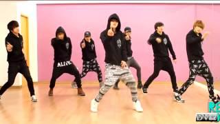 100 2pm ill be back dance practice dvhd