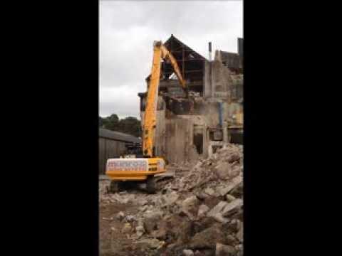 Demolition at Glen Moray Distillery, Elgin