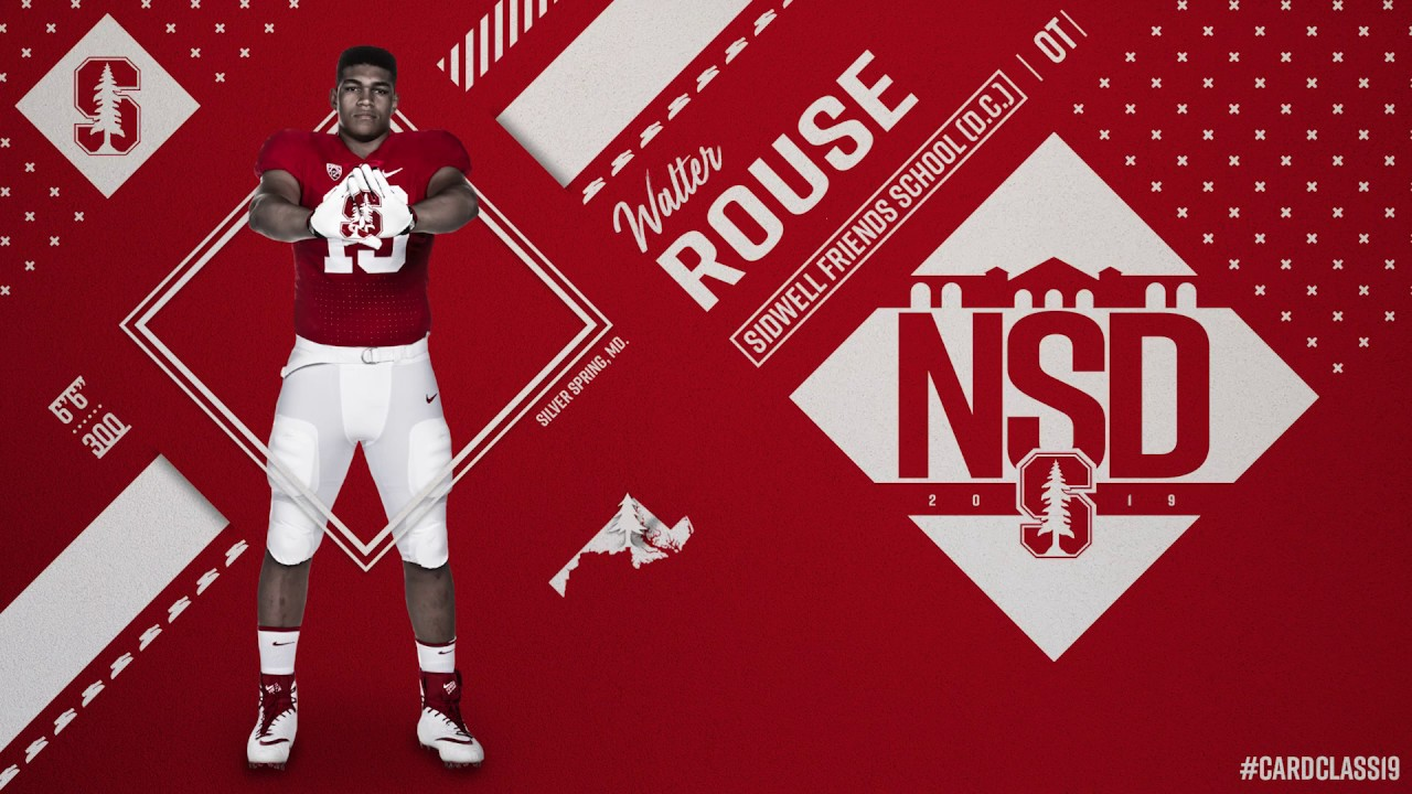 best sneakers 8b3c4 fe6e4 Walter Rouse, Stanford, Offensive Tackle