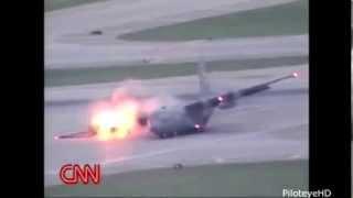Аварии военных самолетов. Видеоподборка