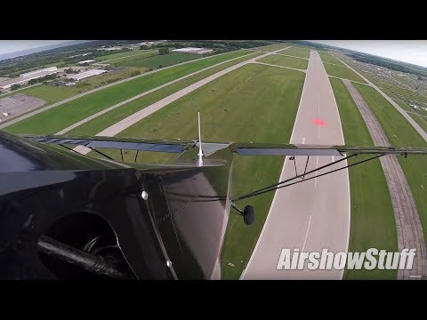 Kyle Franklin Steals Another Airplane (Tail Cam) - EAA AirVenture Oshkosh 2017