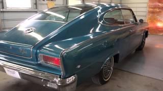 1966 AMC Rambler Marlin Classic Car Video - 3+3 American Musclecar