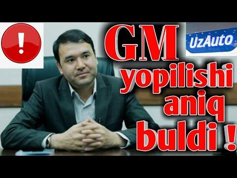 GM UZBEKISTAN YOPILADIMI/DEPUTATLAR GOLIB BULDI!