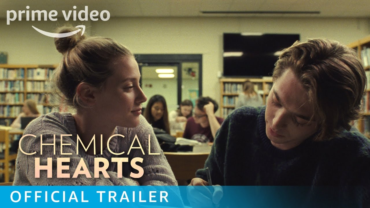 De mooie Lili Reinhart in Chemical Hearts trailer op Amazon Prime Video