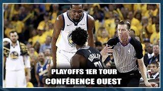 KD & PAT BEVERLEY SE CHAUFFENT ! 1ER TOUR PLAYOFFS NBA (CONFÉRENCE OUEST)
